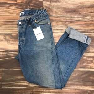 LEVIS RE/DONE SKINNY MID RISE DENIM JEANS 27 #4